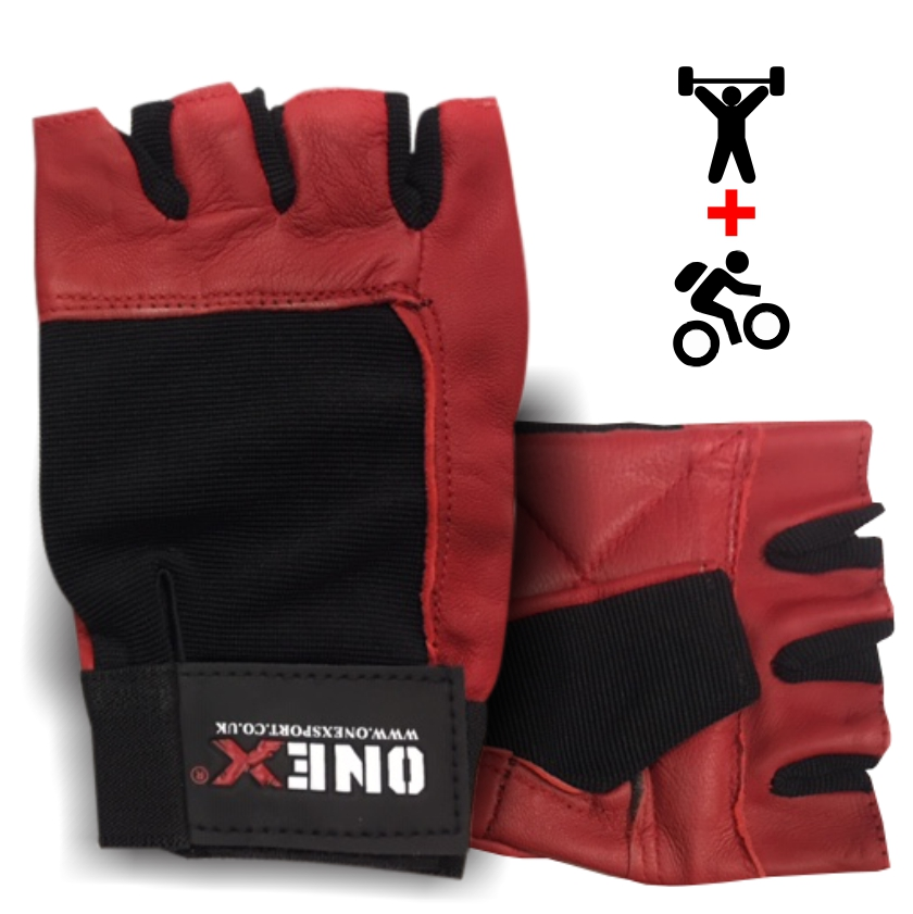 ONEX Ladies Gel Gloves Fitness Cycling Gym Wear Workout Training Weight Lifting